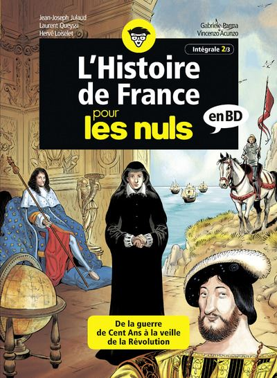 L'Histoire de France pour les Nuls en BD - Intégrale 2 à 3