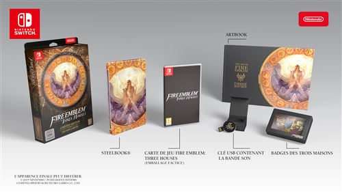 Fire Emblem Three Houses Edition Limitée