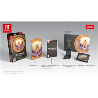 Fire emblem three houses collector FR/NL SWITCH