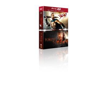 Coffret Pompei + 300 La naissance d'un Empire Blu-ray