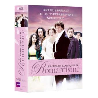 Coffret Les grands classiques du romantisme DVD