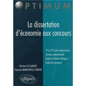 Dissertation corrig economie