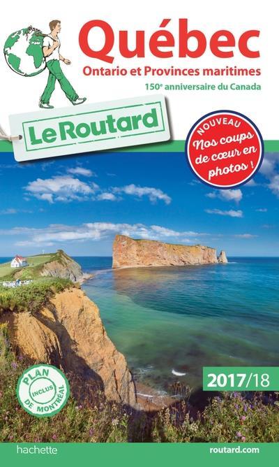 Image accompagnant le produit Guide du Routard Québec, Ontario et Provinces maritimes 2017/2018