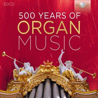 500 Ans de musique pour orgue