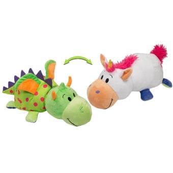 peluche licorne et dragon