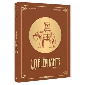 Elephant Man40 éléphants - Ecrin volumes 01 et 02 NED
