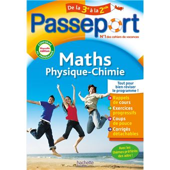 Passeport Cahier De Vacances 2020 Maths Physique Chimie De La 3e Vers La 2de Edition 2009 Broche Christophe Douay Sebastien Dessaint Achat Livre Fnac
