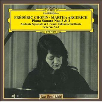 Chopin : Piano Sonatas numbers 2 & 3 Andante Spianato & Grande Polonaise brillante Scherzo number 2