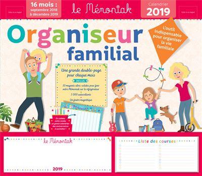 Organiseur familial 2018-2019 Mémoniak