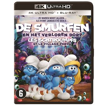De Smurfen: The Lost Village - Nl/Fr - Bluray 4K