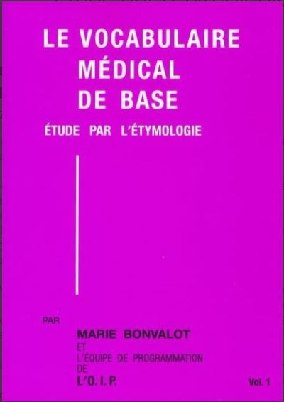 Le vocabulaire médical de base
