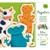 Djeco Crazy Animaux Puzzle 24 pcs