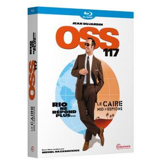 OSS 117Coffret OSS 117 Blu-ray