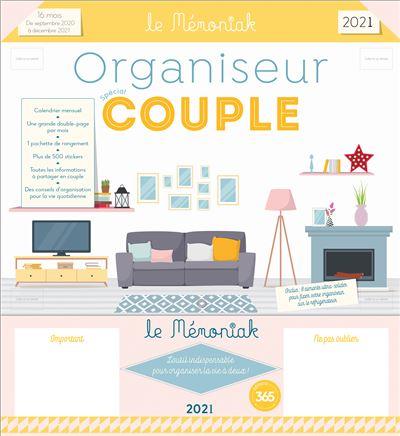 Organiseur Mémoniak spécial Couple 2020-2021