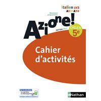 Azione ! 5ème Cahier d'activités 2017