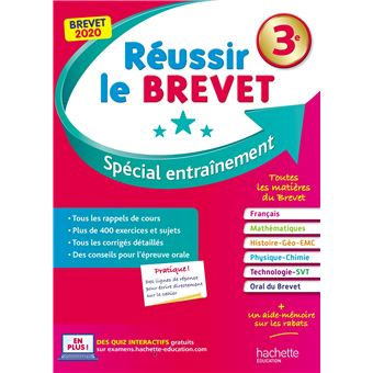 Reussir Le Brevet Nouveau Brevet 3e