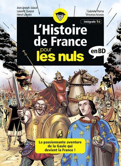 L'Histoire de France pour les Nuls en BD - Intégrale 1 à 3