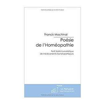 Poésie de l'Homéopathie