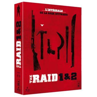 Coffret Raid + Raid 2  Blu-ray