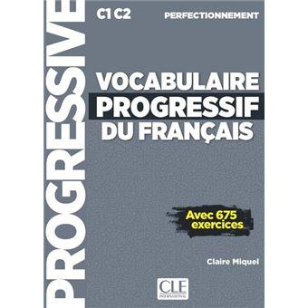 Vocabulaire Progressif Du Francais Niveau Perfectionnement Cd Audio