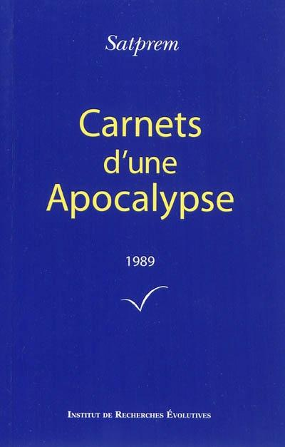 Carnets d'une apocalypse 1989