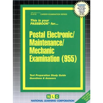 Career examination series autres scolaire collection career postal electronicmaintenancemechanic examination 955 fandeluxe Images