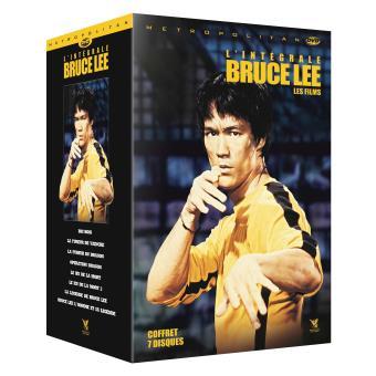 Coffret Bruce Lee 8 films DVD