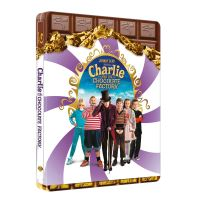 Charlie et la chocolaterie Steelbook Blu-Ray