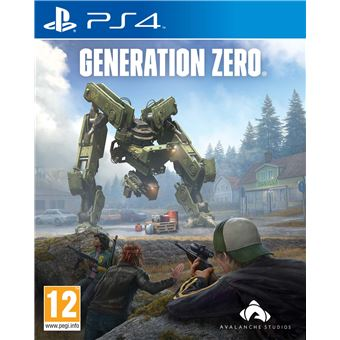 GENERATION ZERO FR/NL PS4