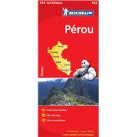 Carte Amerique Du Sud Michelin.Cartes Routieres Amerique Latine Tourisme Et Voyage Fnac