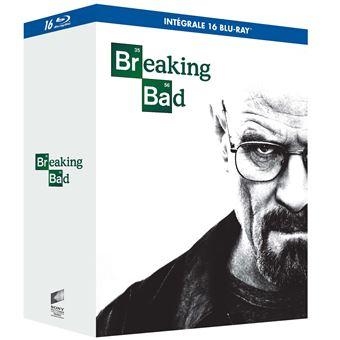 Breaking BadCoffret Breaking Bad L'intégrale de la série Edition Walter White Blu-ray