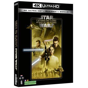 Star WarsStar Wars L'Attaque des Clones Episode 2 Blu-ray 4K Ultra HD