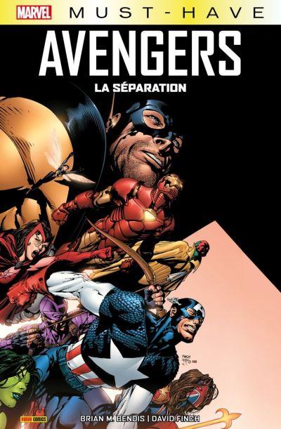 Marvel Must-Have : Avengers - La séparation - 9782809492989 - 9,99 €