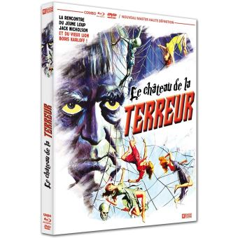 Le Château de la terreur Combo DVD Blu-ray