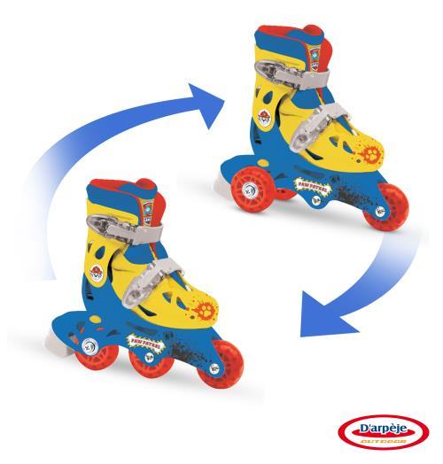 Rollers évolutifs 2 en 1 Pat' Patrouille - Trottinette / Rollers. Achat et vente de jouets, jeux de société, produits de puériculture. Découvrez les Univers Playmobil, Légo, FisherPrice, Vtech ainsi que les grandes marques de puériculture : Chicco, Bébé C