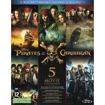Pirates Of The Caribbean 1-5 BIL Bluray