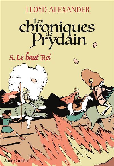 Taram et le Chaudron Magique [Walt Disney - 1985]  - Page 16 Les-Chroniques-de-Prydain-tome-5-Le-Haut-Roi
