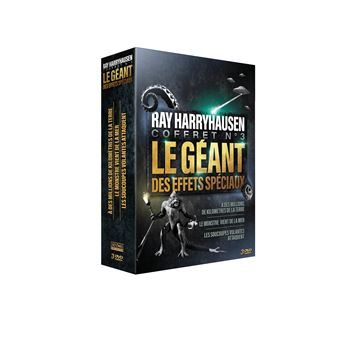 Coffret Ray Harryhausen Volume 3 DVD