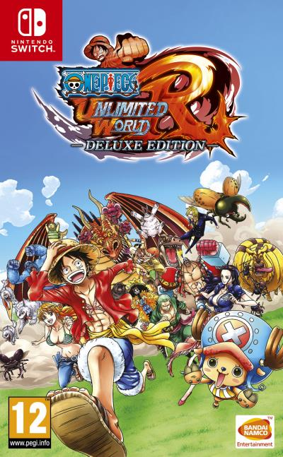 One Piece Unlimited World Red Edition Deluxe Nintendo Switch