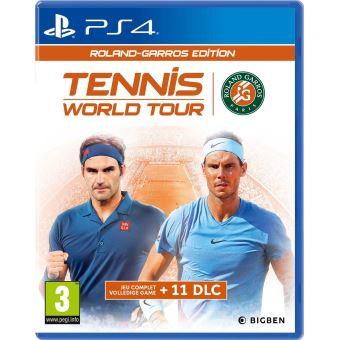 TENNIS WORLD TOUR ROLAND GARROS FR/NL PS4