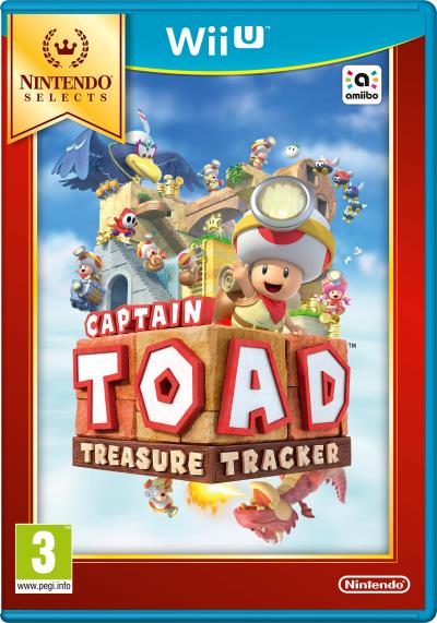 Captain Toad : Treasure Tracker Nintendo Selects Wii U
