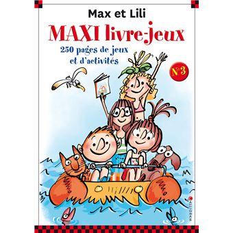 Max et LiliMaxi livre-jeux