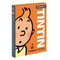 Tintin Volumes 1 à 7 Coffret DVD