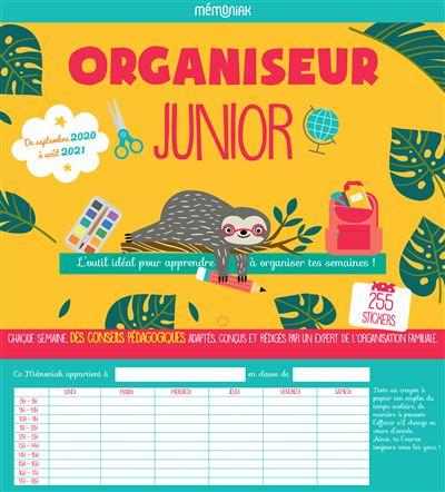 Organiseur Junior Mémoniak 2020-2021