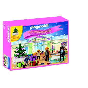 playmobil christmas 5496 calendrier de l avent r veillon de no l playmobil achat prix fnac. Black Bedroom Furniture Sets. Home Design Ideas