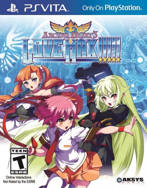 Arcana Heart 3 : Love Max PS Vita