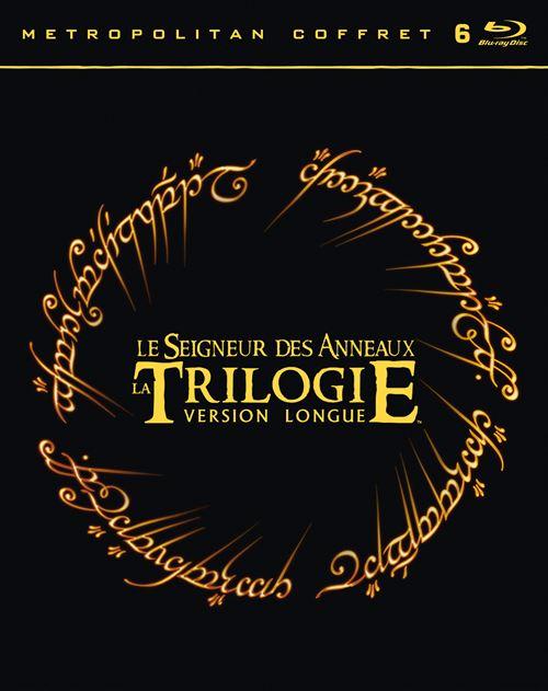 vente en magasin officiel dernière sélection Coffret Le Seigneur des Anneaux Version longue Blu-ray