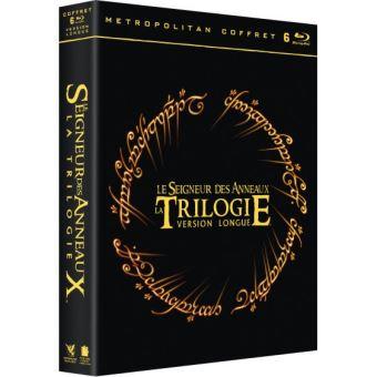 prix le moins cher vente la plus chaude officiel Coffret Le Seigneur des Anneaux Version longue Blu-ray