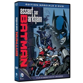 Batman Assault on Akham DVD