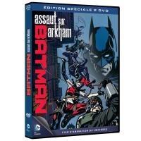 Batman Assault on Akham DVD